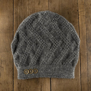 Clendenan Toque in flannel