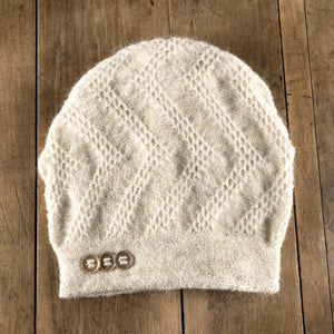 Clendenan Toque in oyster