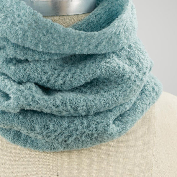Roxton Infinity Scarf close up