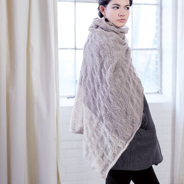 Quetico Poncho side view