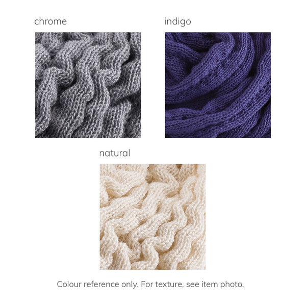 Organic Cotton Twisted Loop colours