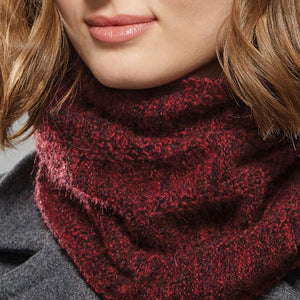 Bancroft Infinity Scarf close up