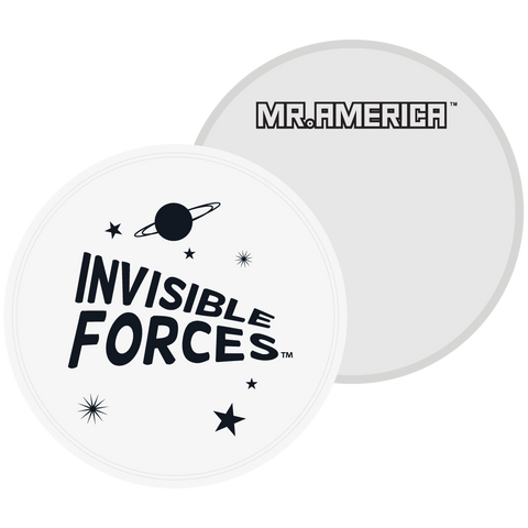 Invisible Forces Frisbee