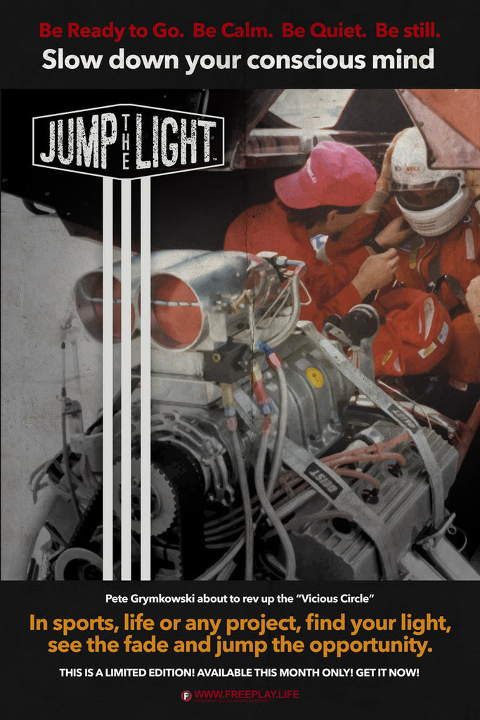 Jump The Light Poster
