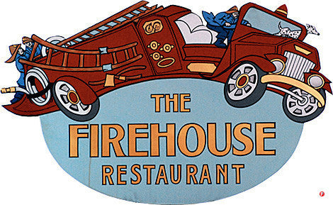 294-THE FIREHOUSE RESTARAUNT SIGN