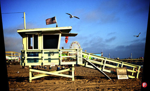 297-TRASHCAN LIFEGUARD STAND