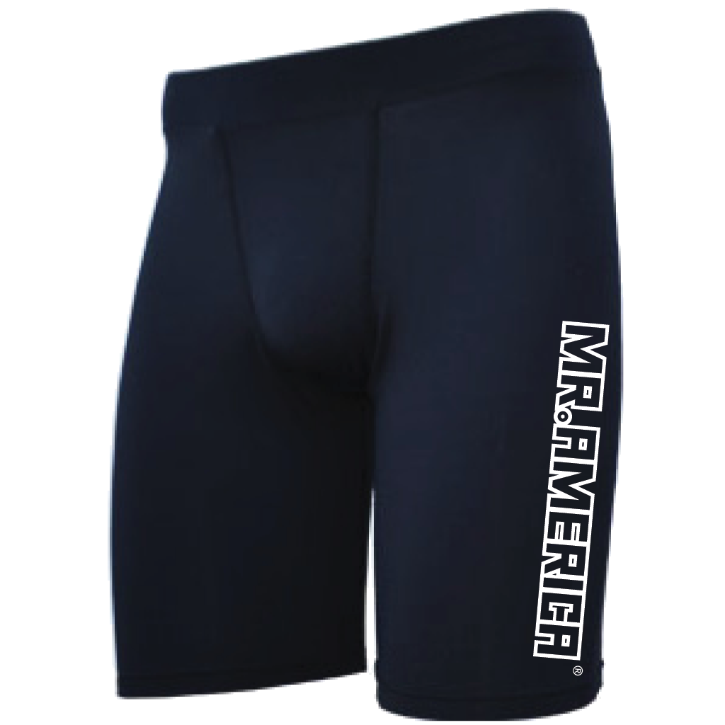 Mr. America Men's Compression Shorts