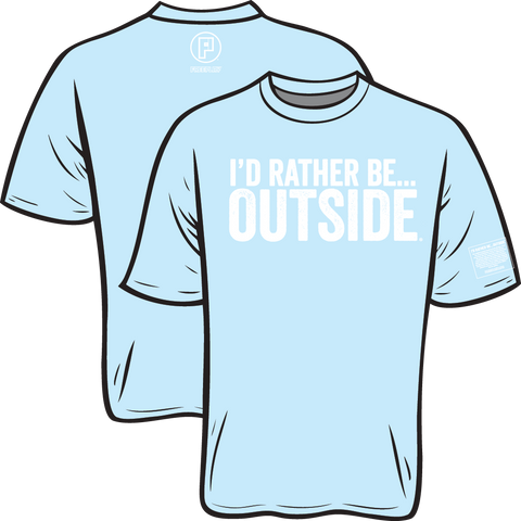 I'd Rather Be Outside Youth Tee