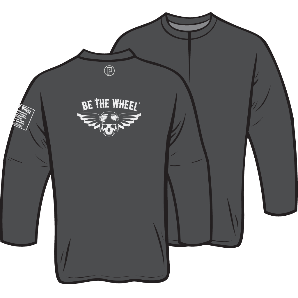 Be the Wheel Stretch 1/2-Zip Pullover