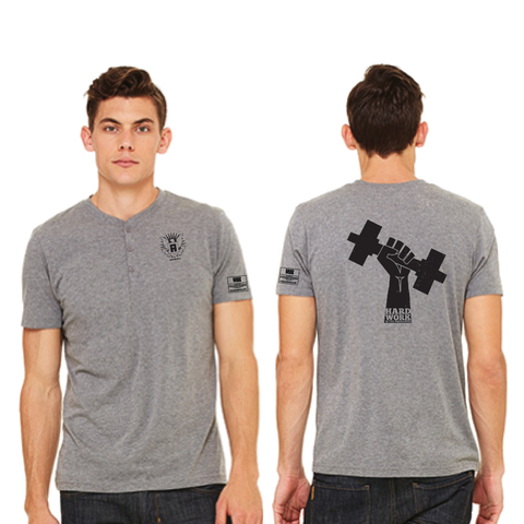 Hard Work Is The Equalizer Tri-Blend Henley