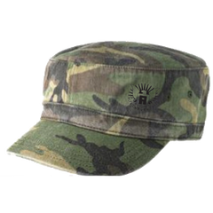Mr. America Distressed Military Hat