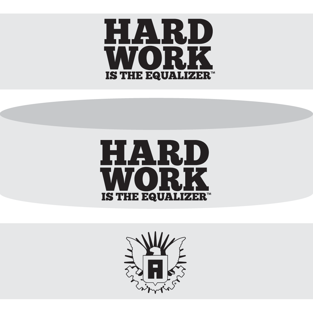 Hard Work Is The Equalizer Sweatband