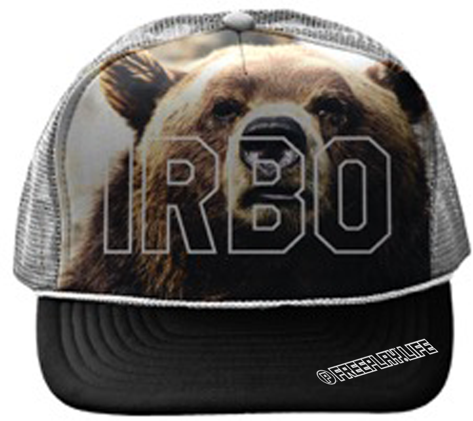 I'd Rather Be Outside Mesh Back Bear Hat