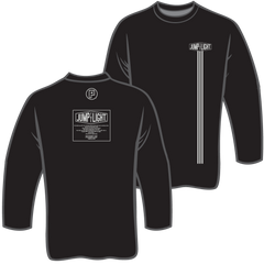 Jump the Light Fitted Long Sleeve Crew Tee