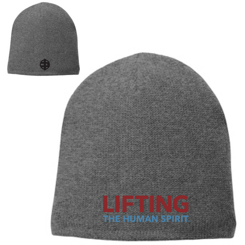 Lifting The Human Spirit Fleece-Lined Beanie