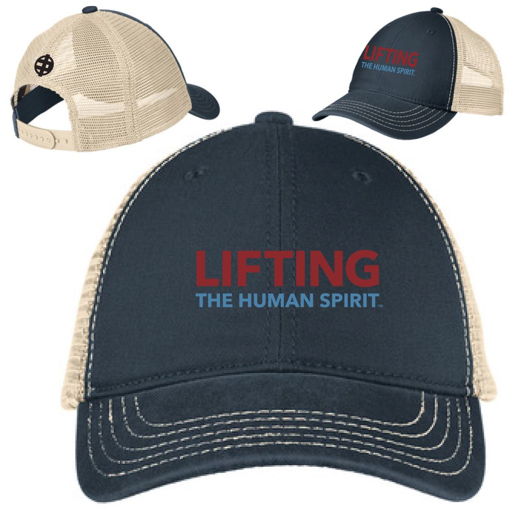 94d31ae65d1 Lifting The Human Spirit Super Soft Mesh Back Cap – The MR. AMERICA Shop