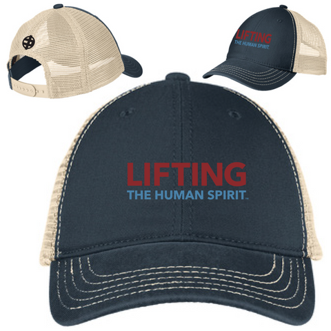 Lifting The Human Spirit Super Soft Mesh Back Cap
