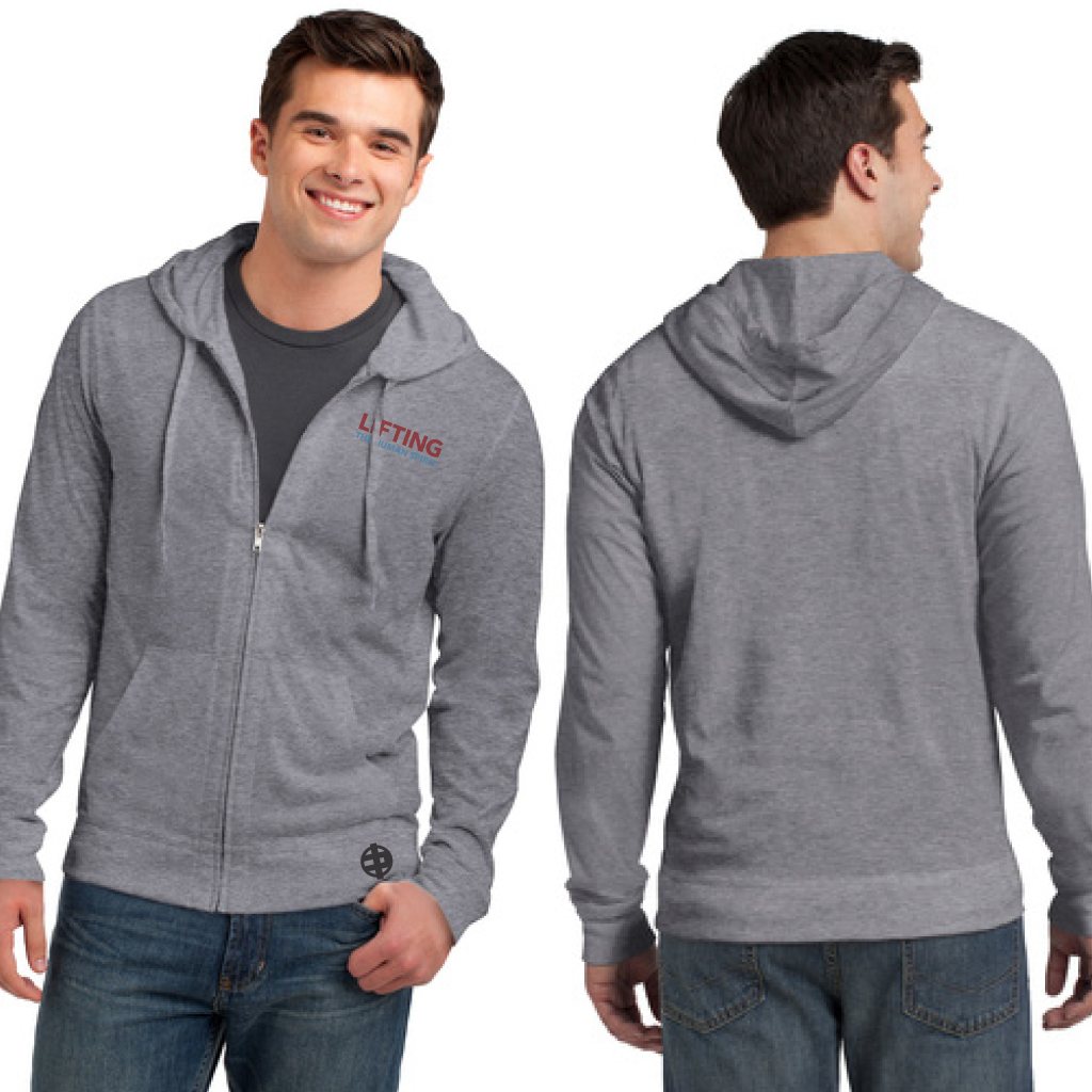 Lifting The Human Spirit Zip Hoodie