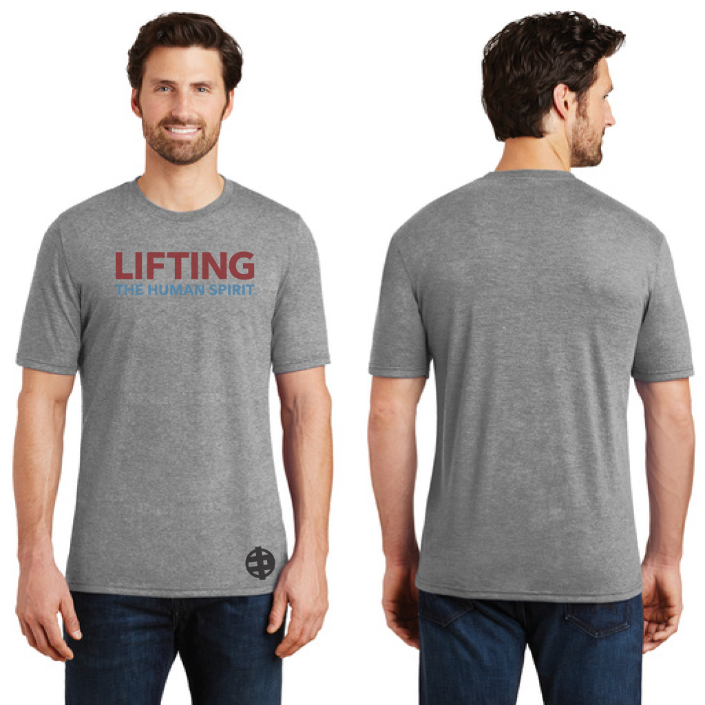 Lifting The Human Spirit TriBlend Tee