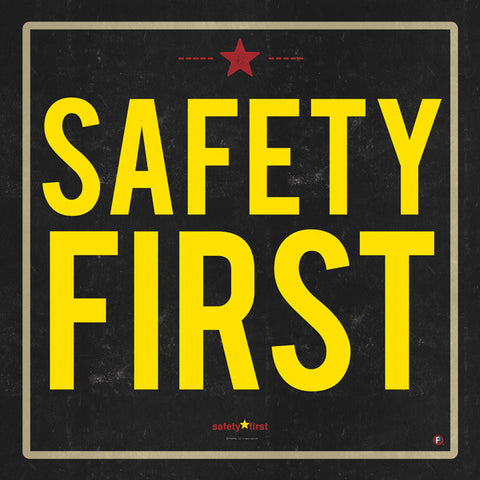 218-SAFETY FIRST YELLOW