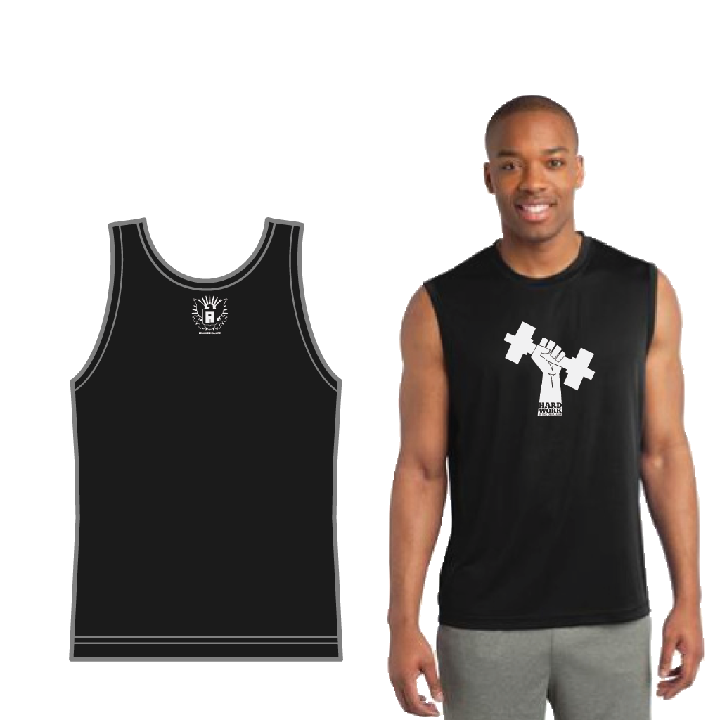 Hard Work Is The Equalizer Sleeveless Tee