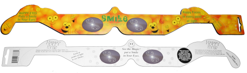 Smiley Face 3D Glasses