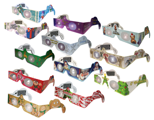 Mixed Bundle 3D Glasses