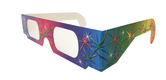 Rainbow Spectrum Glasses