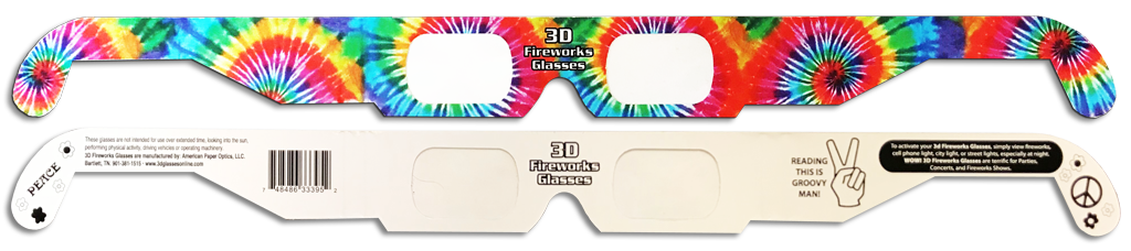 Trippy Diffraction Glasses