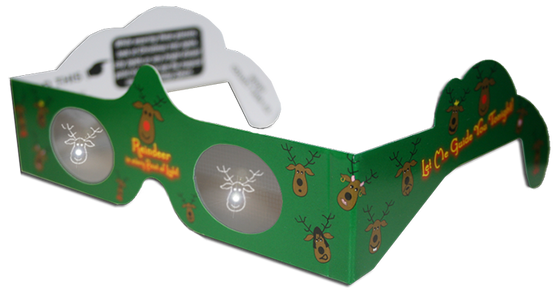 Reindeer 3D Glasses