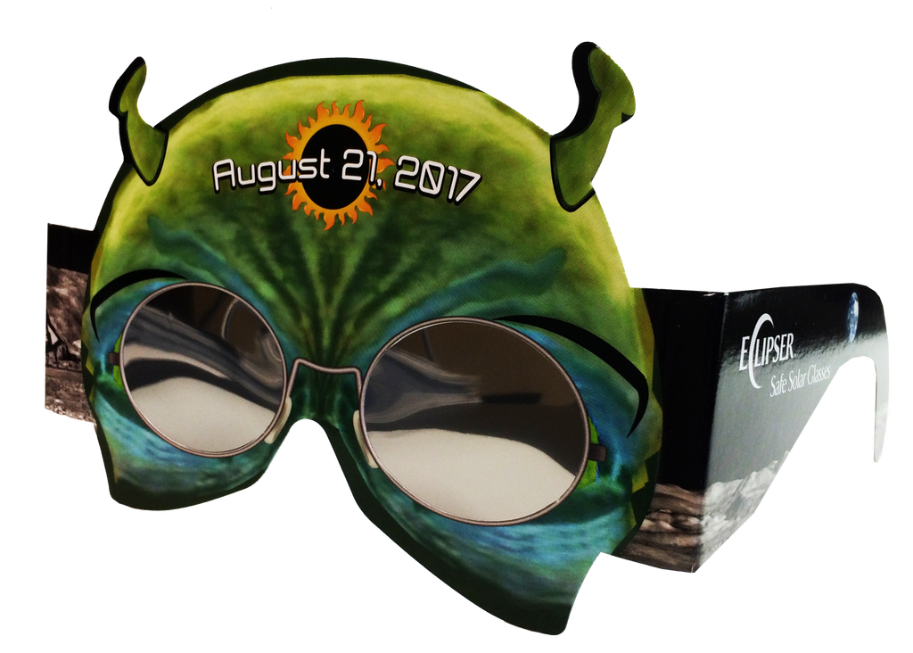 Alien Eclipse Glasses