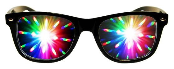 Midnight Black Plastic Diffraction