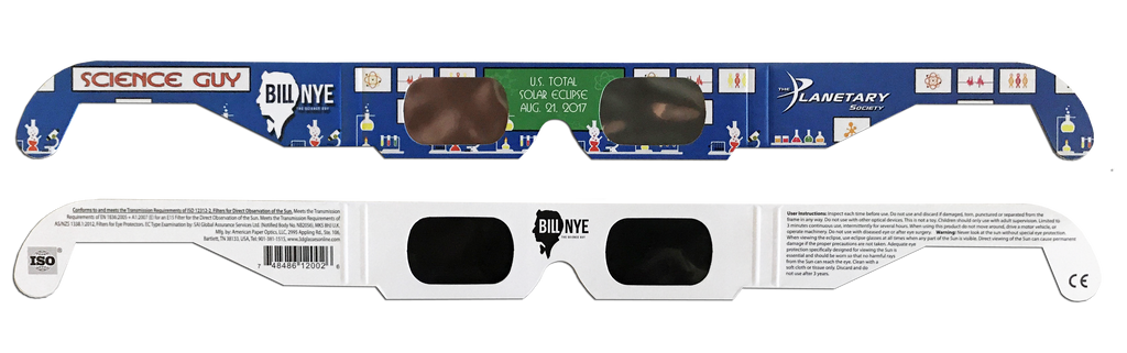 Bill Nye Eclipse Guy Glasses