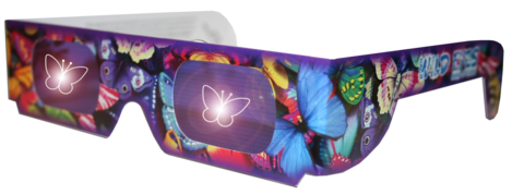 Butterfly Wild Eyes Glasses