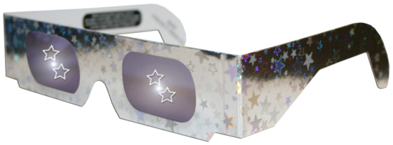 5 Point Star 3D Glasses