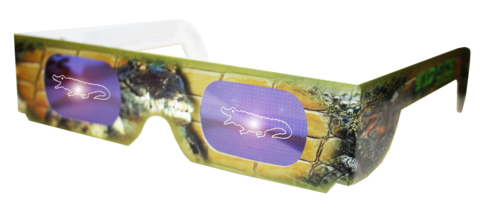 Crocodile Wild Eyes Glasses