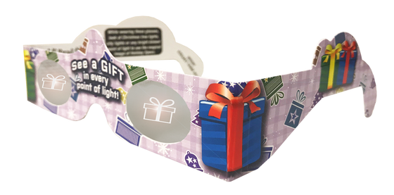 Gift-Wrapped 3D Glasses