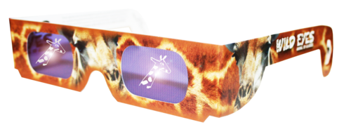 Giraffe Wild Eyes Glasses