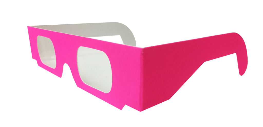 Assorted Neon Plain Glasses