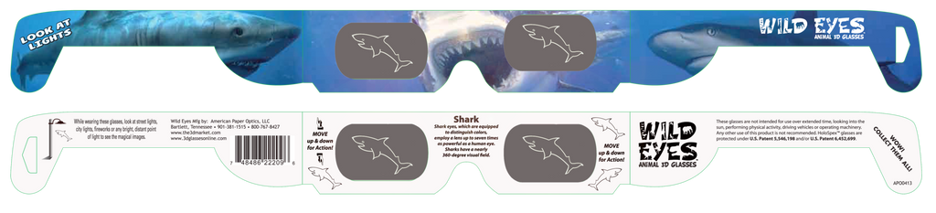 Shark Wild Eyes Glasses