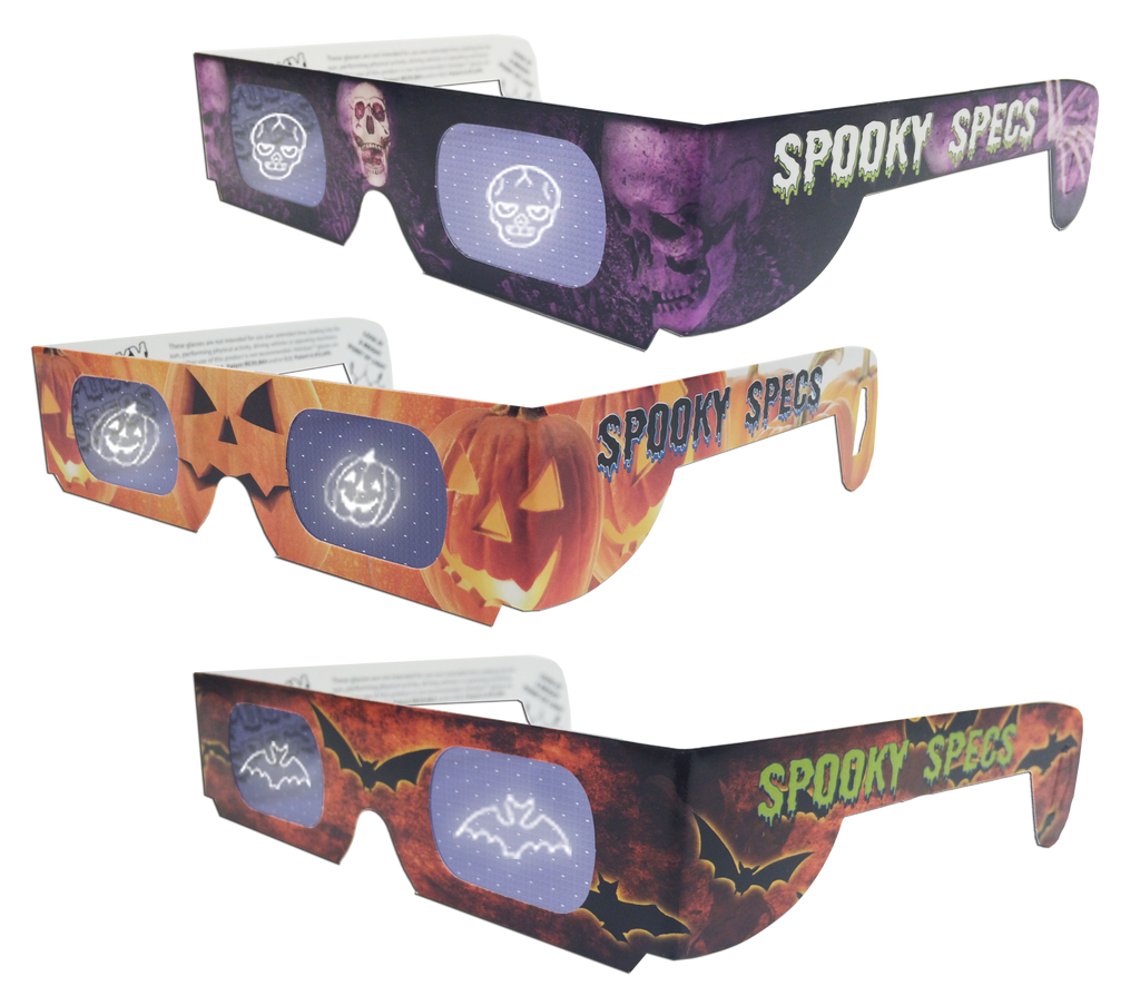 Mixed Bundle of Spooky Specs 3D Glasses