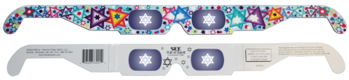 Star of David 3D Glasses