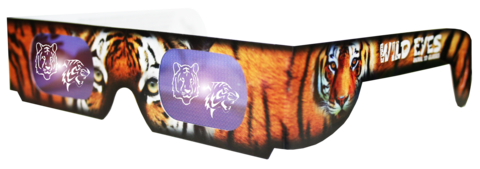 Tiger Wild Eyes Glasses