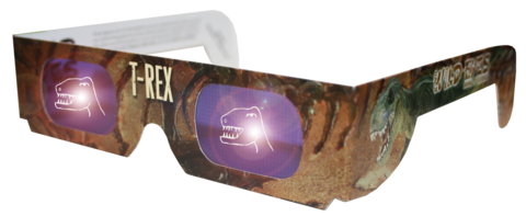 T-Rex Wild Eyes Glasses