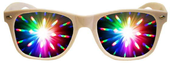 All White Plastic Diffraction