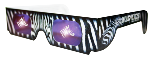 Zebra Wild Eyes Glasses