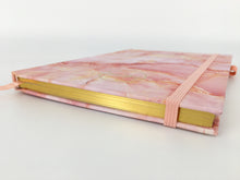Load image into Gallery viewer, Notebook A5 Pink Marble