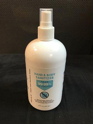 Body and Hand Sanitizer Non-Alcohol