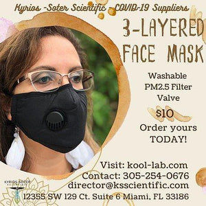 3 Layers Mask include KN95 filter and valve. Adjustable nose it keeps closed and safe.