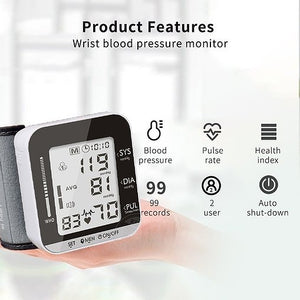 Electronic Blood Pressure Monitor with Voice in English
